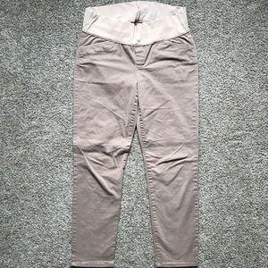 Gap Maternity Khakis - Skinny Mini